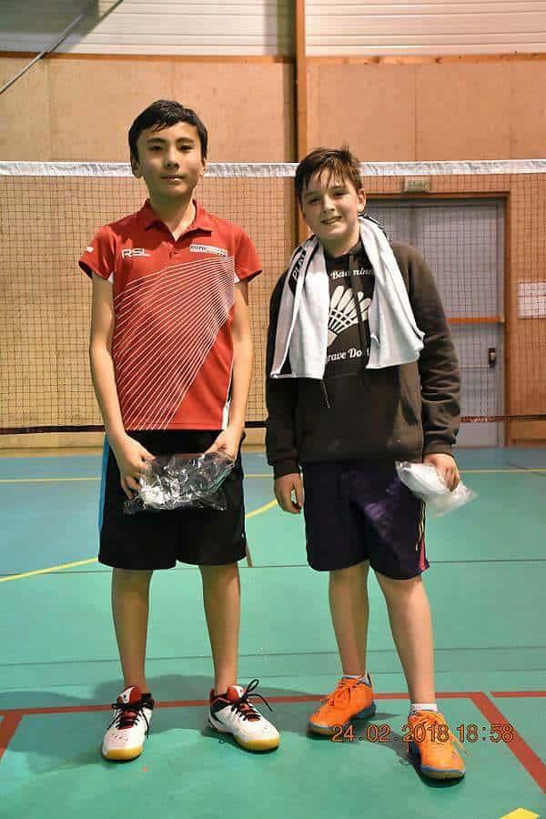 SBC57 Badminton Sarreguemines - Aaron D'Agostino