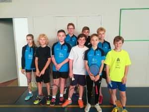 Jeunes compétiteurs - Sarreguemines Badminton Club