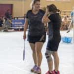 Tournoi des Faïences 2018 - SBC57 Badminton Sarreguemines - Frédérique Stegner - Laura