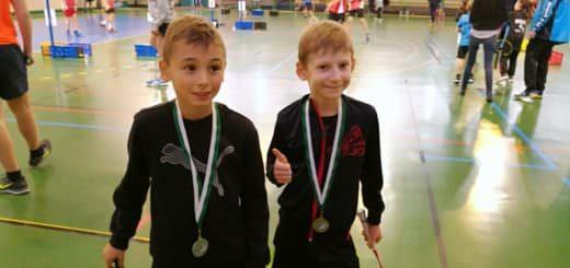 Victor Schoendorff et Benjamin Schmidt - SBC57 Badminton Sarreguemines