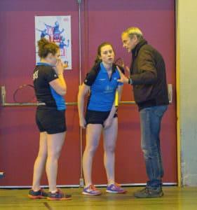 SBC57 Badminton Sarreguemines Serge Mallick Elodie Sprick Mathilde Sprick