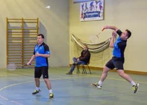 SBC57 Badminton Sarreguemines Vincent Briche Stéphane Mallick
