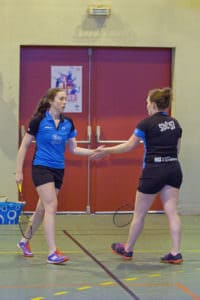 SBC57 Badminton Sarreguemines Elodie Sprick Mathilde Reiss