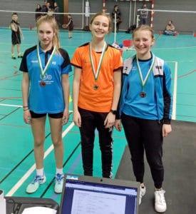 Championnat de Moselle 2018/2019 - Eva - Simple Dames Minime