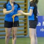 SBC57 Badminton Sarreguemines Nationale 3 Elodie Sprick Mathilde Reiss