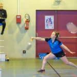 SBC57 Badminton Sarreguemines Nationale 3 Elodie Sprick