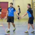 SBC57 Badminton Sarreguemines Nationale 3 Vincent Briche Remi Engler