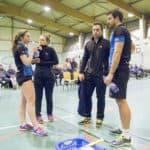 SBC57 Badminton Sarreguemines Nationale 3 Mathilde Reiss Elodie Sprick Vincent Briche Remi Engler