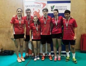 Championnat de Moselle 2018/2019 - Valentine - Double Mixte Junior