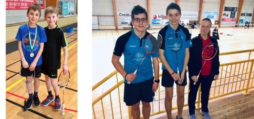 SBC57 Circuit jeunes Hettange-Grande Badminton