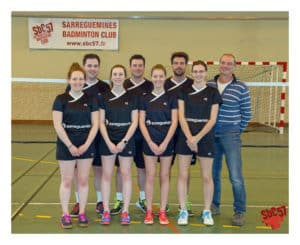 SBC57 Badminton Sarreguemines Nationale 3