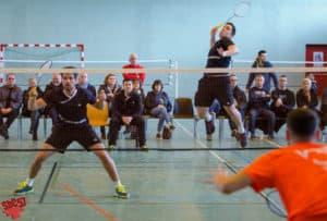 SBC57 Badminton Sarreguemines Rémi Engler Vincent Briche