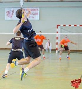 SBC57 Badminton Sarreguemines Rémi Engler