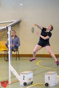 SBC57 Badminton Sarreguemines Elodie Sprick