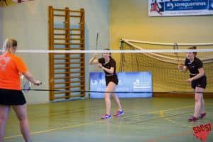 SBC57 Badminton Sarreguemines Mathilde Reiss Elodie Sprick