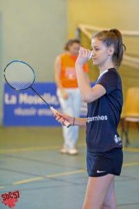 SBC57 Badminton Sarreguemines Apolline Houver